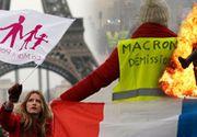 Violenţele din Franţa capătă proporţii greu de imaginat! Mii de studenţi şi liceeni au protestat în marile oraşe ale ţării
