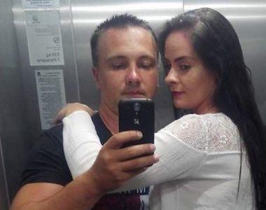 EI sunt poliţistul şi iubita sa găsiţi morţi în casă. Cornel şi Marcela aveau o fetiţă...