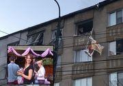 Mesajul cutremurător al lui Sorin, bărbatul care a vrut să-şi omoare iubita poliţistă, la Bistriţa, înainte de a se arunca de la etaj