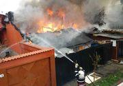Incendiu în Capitală. Intervenţia pompierilor este dificilă din lipsa hidranţilor funcţionali