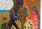 """Un tablou cu Liviu Dragnea a fost vândut la licitaţie: """"Nu este primul dictator pe care l-am pictat"""""""