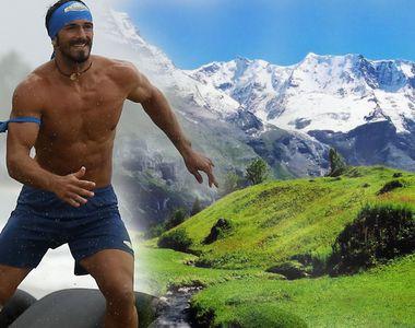 """Alin Andronic s-a pierdut în Alpi! """"Razboinicul"""" de la Exatlon şi-a filmat aventura..."""