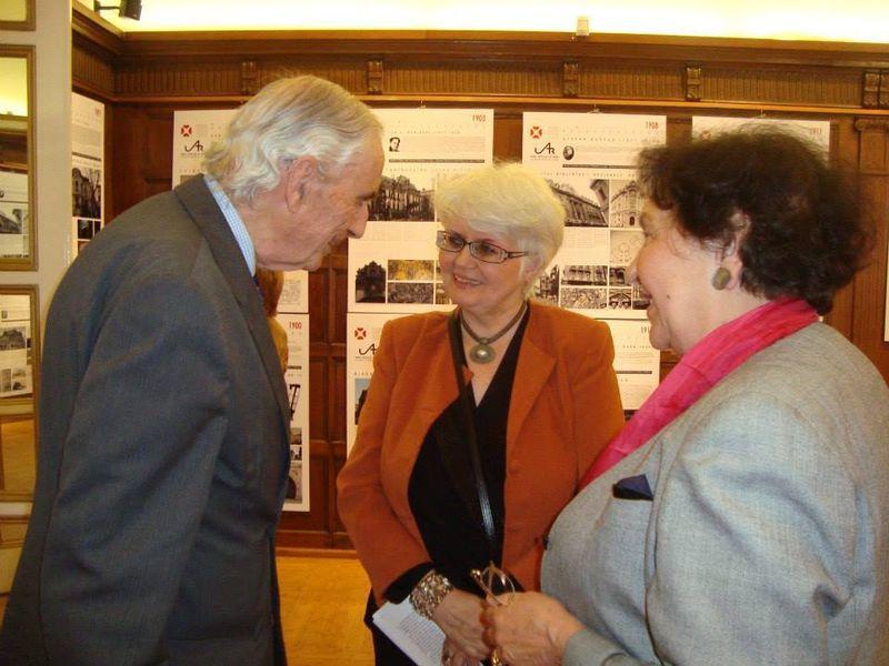 Prof. dr. Cristina Olga Gociman in timpul unui eveniment de arhitectura