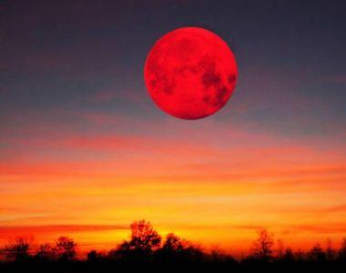 Eclipsă de Lună 21 ianuarie. Când va fi vizibil fenomenul în România
