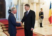 """Intalnire intre Klaus Iohannis si Printul Charles, la Palatul Cotroceni. Cei doi au discutat despre potentialul turistic """"extraordinar"""" pe care il are tara noastra"""