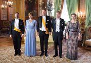 Presedintele Klaus Iohannis si sotia sa, la ceremonia primirii de catre ducele de Luxemburg! De la eveniment a lipsit ducesa