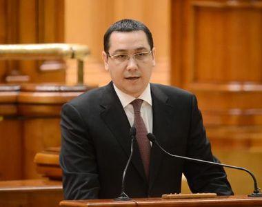 """Victor Ponta vrea sa fie presedintele Camerei Deputatilor: """"Sper ca Liviu Dragnea..."""