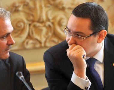 Intepaturi intre Liviu Dragnea si Victor Ponta pe tema preluarii sefiei Camerei...