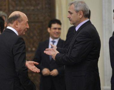 Cum a ajuns Traian Basescu sa faca aliante cu Liviu Dragnea. PMP si PSD au batut palma...