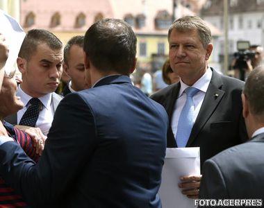 Incident la Sibiu, azi dimineata, in timpul vizitei lui Iohannis! Barbatul care l-a...