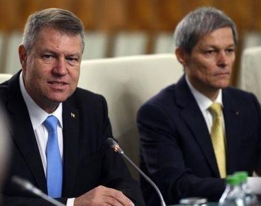 Klaus Iohannis discuta cu Ciolos, Isarescu si liderii partidelor parlamentare situatia...