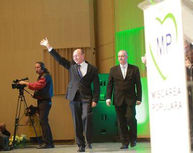 Apare un nou partid politic care va fi condus de Traian Basescu