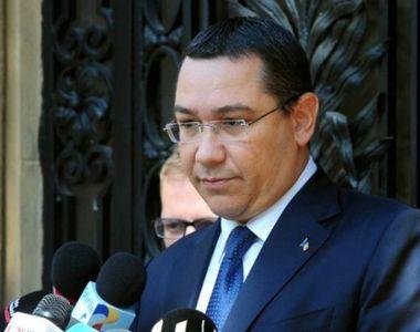 Fostul premier Victor Ponta, suspect intr-un nou dosar. El a fost plasat sub control...