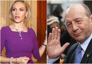 Gabriela Firea si-a retras plângerea penala impotriva fostului presedinte Traian Basescu, pentru acuzatiile de santaj