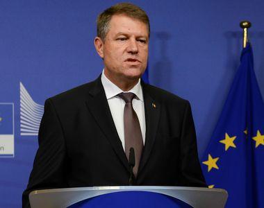 """Klaus Iohannis: """"Pentru Romania optiunea este clara. Vrem sa fim parte a nucleului..."""