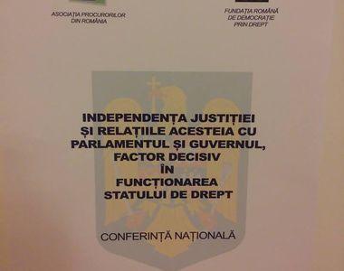 Independenta justitiei, subiect de dezbatere in Parlament. Afirmatie halucinanta a unui...