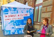 Presupusa fiica a Principelui Nicolae apare in clipul electoral al fostei lui iubite! Nicoleta Carjan vrea sa devina parlamantar din partea gruparii lui Nicusor Dan