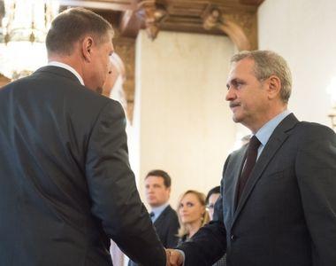 """Liviu Dragnea: """"Klaus Iohannis bate campii. Membrii guvernului sunt pacaliti si..."""