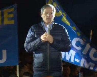 """Dacian Ciolos, la mitingul PNL: """"Sper sa avem un parlament in care toti..."""