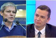 Dacian Ciolos l-a sunat pe Sorin Grindeanu si l-a felicitat pentru desemnarea la functia de prim-ministru