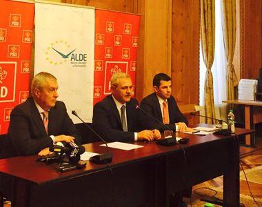 Dragnea, Tariceanu si Constantin urmeaza sa aiba o intalnire pentru a stabili...
