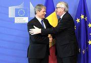 """Dacian Ciolos, felicitat de presedintele Comisiei Europene pentru """"guvernare transparenta fara precedent in istoria recenta a Romaniei"""""""