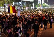 "Protestele din Romania, in presa internationala: ""Mii de romani s-au strans in ger in Piata Universitatii, locul tuturor protestelor majore dupa ce Romania a rasturnat comunismul, in 1989"""