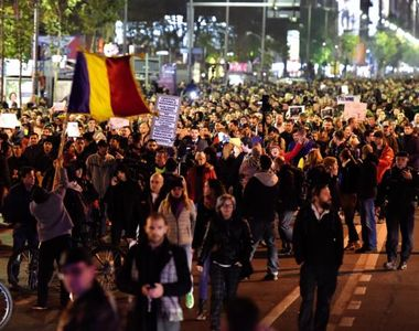 "Protestele din Romania, in presa internationala: ""Mii de romani s-au strans in ger..."
