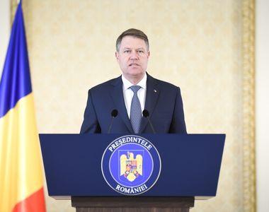 """Klaus Iohannis: """"Astazi este o zi de doliu pentru statul de drept. Sfidarea PSD la..."""