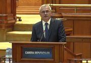 Dragnea, despre motiune: Politicianista, ipocrita, inutila, o nota de subsol la discursul slab si rautacios al lui Iohannis