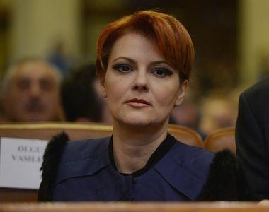 Ministrul Muncii, Lia Olguta Vasilescu: Unele salarii vor scadea dupa noua lege a...