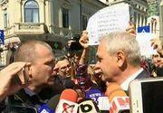 Scandal la Inalta Curte! Ce le-a raspuns Liviu Dragnea unor protestatari care i-au cerut demisia din fruntea Camerei Deputatilor