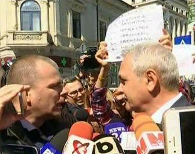 Scandal la Inalta Curte! Ce le-a raspuns Liviu Dragnea unor protestatari care i-au...