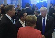 Klaus Iohannis, fata in fata cu Donald Trump