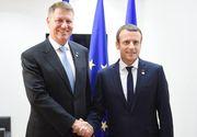 Presedintele Frantei, Emmanuel Macron, va veni in vizita in Romania in perioada urmatoare