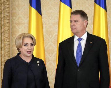 """Klaus Iohannis i-a cerut, din nou, demisia Vioricai Dancila: """"Este imperioasa..."""