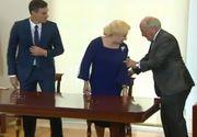 Dancila s-a intalnit cu premierul Spaniei. Ce gafa a facut premierul nostru si cum a taiat Guvernul imaginile din inregistrare