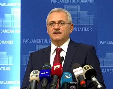 Dragnea: Iohannis este un preşedinte panicat, care vede cum se destramă sistemul odios...