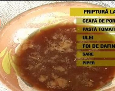 Cea mai apetisanta friptura traditionala. Nimic nu se compara cu gustul carnii fragede