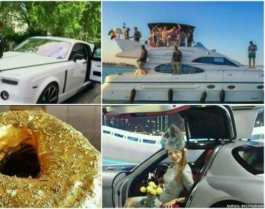 Cum arata viata adolescentilor de bani gata: masini de lux spalate cu sampanie scumpa,...
