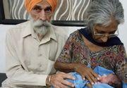 La 70 de ani a nascut primul ei copil! Cine este femeia care a devenit cea mai batrana mamica din lume!