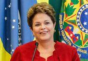 Presedinta Braziliei, suspendata din functie prin votul Senatului
