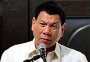 """Noul presedinte din Filipine vrea sa reintroduca pedeapsa cu moartea si dubla spanzuratoare: """"Imi place, pentru ca sunt nebun"""""""