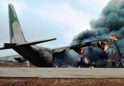 Sapte oameni au murit intr-o tragedie avatica. Un avion cargo s-a prabusit in Afganistan