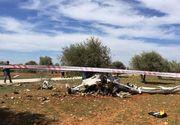 O noua tragedie aviatica! Un avion s-a prabusit in Spania, in apropiere de granita cu Franta!