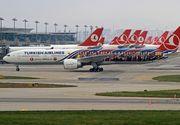 Alerta la bordul unui avion Turkish Airlines. Pasagerii au fost evacuati dupa gasirea unui bilet ce anunta un atac cu bomba
