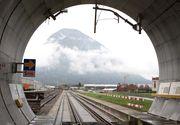 Constructia celui mai lung tunel feroviar din lume a fost finalizata dupa 17 ani. Trenurile vor strabate 57 de km prin Alpii Elvetieni