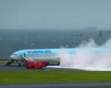 Un avion cu 319 persoane la bord a fost evacuat de urgenta, dupa ce unul dintre motoare...