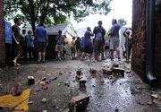 Peste 70 de persoane au fost ranite, dupa ce au fost lovite de fulger in timpul unui concert din Germania
