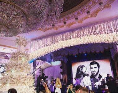 Un miliardar rus a cheltuit 2 milioane de dolari pe nunta vis a fiului lui. Mireasa a...